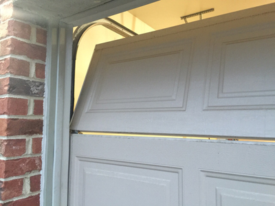 Why Your Garage Door May Be Hurting your Fingers